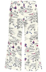Calça Pantalona Adulto Enfim Branco - G