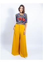 Calça Pantalona de Alfaiataria 38