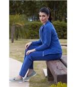 Calça Pau a Pique Plush Azul Bic AZUL - P