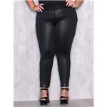 Calça Plus Size Montaria com a Frente em Cirrê M