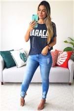 Calça Skinny Colcci Jeans Bia Cintura Alta - Azul