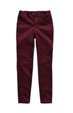 Calça Skinny Sarja Cintura Alta Malwee Vinho - 34