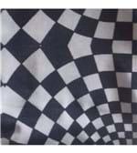 Calcinha Básica Liganete Estampada - 156 Estampa Quadriculada Preto e Cinza M