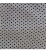 Calcinha Microfibra com Renda Fio Dental - 281 Branco Poá Preto / M