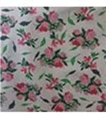 Calcinha Microfibra Estampada - 536 Floral Rosa com Verde Musgo/M