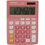 Calculadora Básica Procalc - Rosa