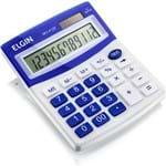 Calculadora C/ 12 Dígitos MV4125 Azul - Elgin