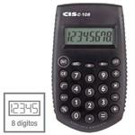 Calculadora de Bolso 08 Dig.mod.c-108/capa 5,5x9,5