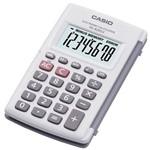 Calculadora de Bolso Casio 8 Dígitos Hl820lv-we - Branca