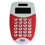Calculadora de Bolso Vermelha Tc11 Tilibra