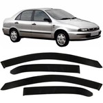 Calha Chuva Acrilica Fiat Marea Sedan 1998 a 2007 - 4 Portas