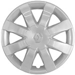 Calota Aro 15 (Preço Unitário) Sandero - Logan - Symbol Todos Até 2013
