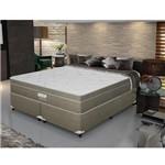 Cama Box Queen Size Daniel Classic Molas Ensacadas e Pillow Euro Top - Firme - Gazin - 158x198x69