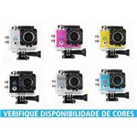 Camera Action Sports a Prova Dagua 12 Mp Wifi - 4k - Preta