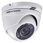 Câmera Dome Hikvision 3.0 Ds-2ce56c0t-ir 2.8 720p Ip66 Ir20