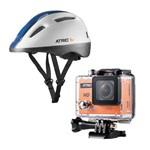 Câmera HD com Capacete Urban Branco G Multilaser