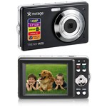 Câmera Multilaser Mirage Trend 14MP 8x Zoom Digital Preta