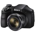 """Câmera Sony DSC-H300 3.0"""" 20.1MP Zoom Óptico 35X - Preta"""