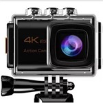 Câmera Sport Action 4k 25fps Wi-fi + Kit de Acessórios
