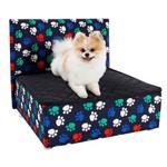 Caminha Box Pet com Cabeceira para Cachorros e Gatos Luxo