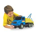 Caminhão Super Guincho Azul e Amarelo - Líder