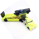 Caminhão Transportador Hot Wheels - Rock'n Race Amarelo - Mattel