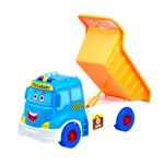 Caminhão Trucababy Calesita Azul Sem Som