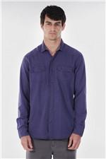 Camisa Algodao Density Blue Camisa Density Blue Unica G