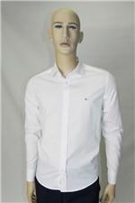 Camisa Aramis Menswear Slim Listras e Poa Branco Tam. P
