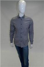 Camisa Aramis Super Slim Menswear Cinza Tam. G