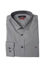 Camisa Aramis Super Slim MW Strech Cinza Tam. M
