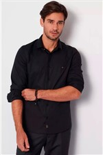 Camisa Aramis Super Slim MW Strech Preto Tam. P