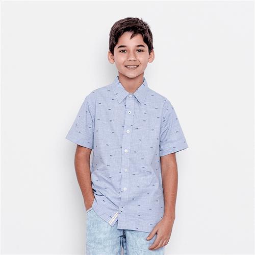 Camisa Avulso Azul/10