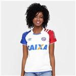 Camisa Bahia I 17/18 Nº 10 Torcedor Umbro Feminina