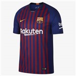 Camisa Barcelona Original Torcedor 2018/19 Azul Grena Tamanho M