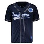 Camisa Baseball Cruzeiro Marinho