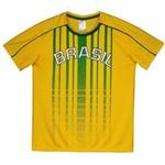 Camisa Brasil Juruá Infantil Amarela
