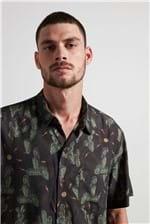 Camisa Cactus Bolt Marrom M