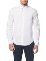 Camisa Calvin Klein Extra Slim Simples Branco 2 - 2
