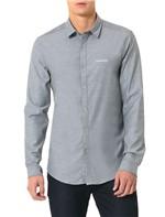 Camisa Calvin Klein Jeans Piquet Preto - G