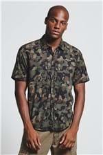 Camisa Cammo Forest Verde Militar G