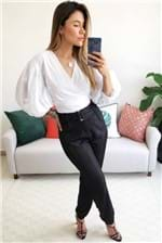 Camisa Colcci com Amarração - Branco