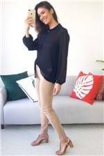 Camisa Colcci com Aplicação Botões Manga Longa - Preto