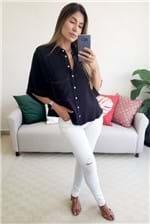 Camisa Colcci com Botões - Preto