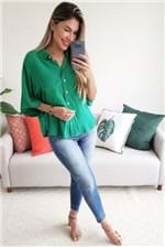 Camisa Colcci com Botões - Verde
