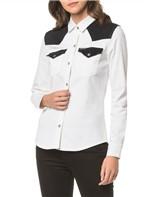 Camisa Color Manga Longa - Branco 2 - Pp