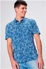 Camisa com Estampa Floral Masculina