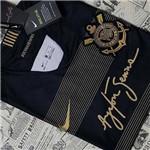 Camisa Corinthians Oficial Preta Torcedor 2018/19 Ayrton Senna Original