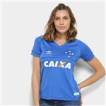 Camisa Cruzeiro I 18/19 S/n° C/ Patrocínio - Torcedor Umbro Feminina