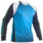 Camisa de Goleiro Poker Sublimax 5 M/l - Azul